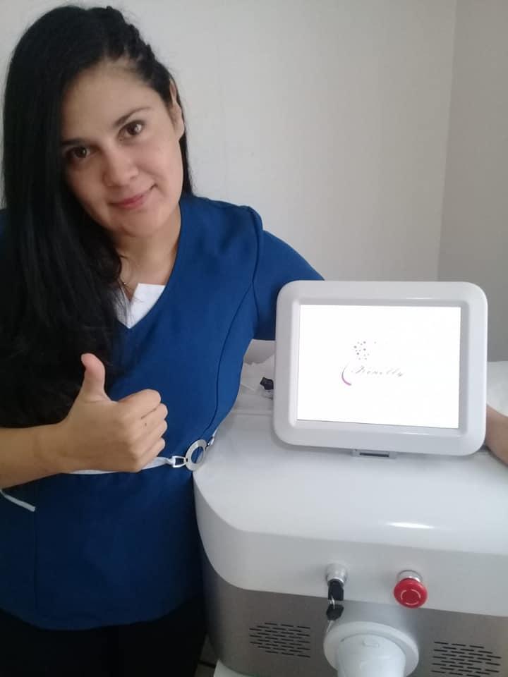 three wavelength diode laser hair removal machine
