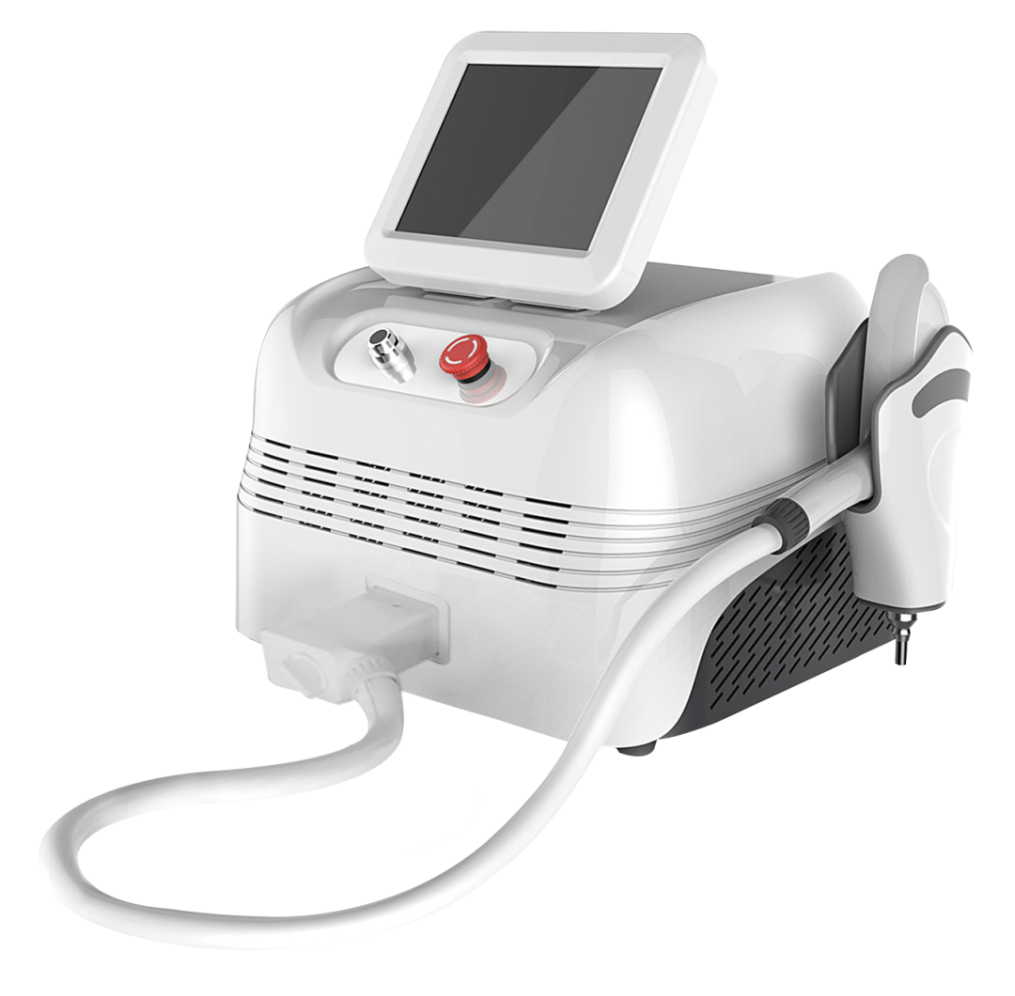 Portable laser tattoo removal machine